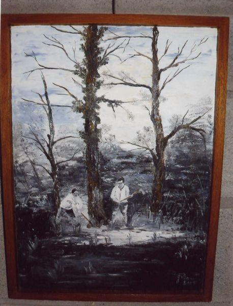 Peinture l huile sur bois - Peinture a l huile sur bois ...